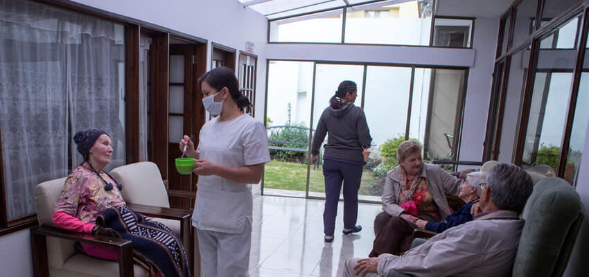 mision de hogares geriatricos